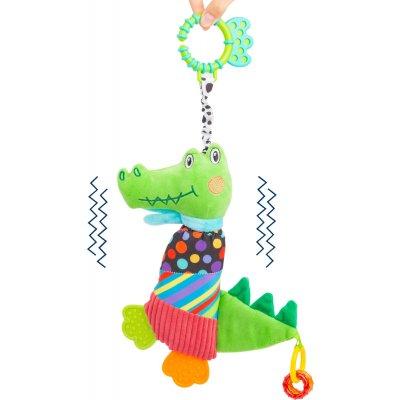 SMALL FOOT Senzorične igrače - Krokodil