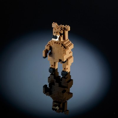 BRIXIES Kocke Medved