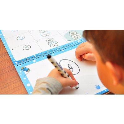 ČIV ČAV Knjiga za učenje risanja: Kako narisati zimske motive