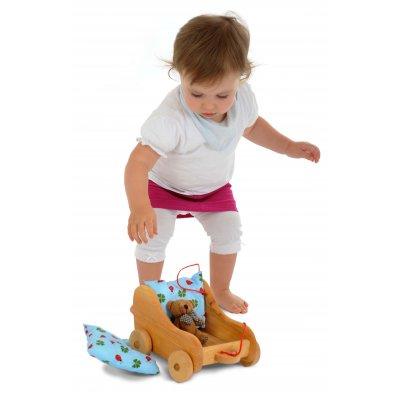GLUCKSKAFER Voziček za punčke - mali