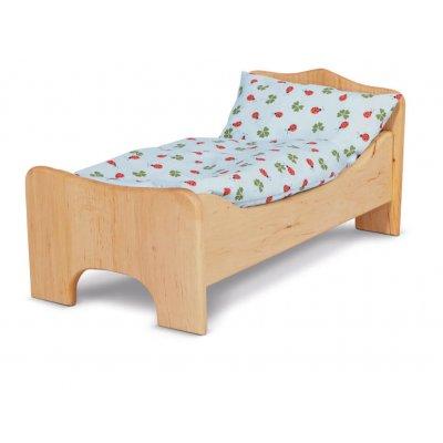 GLUCKSKAFER Posteljnina za posteljo za punčke