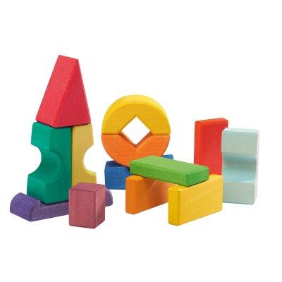 GLUCKSKAFER Igra ravnotežja Lesene kocke