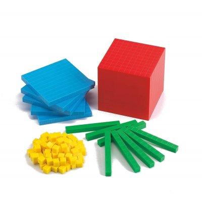 EDX Kocke za učenje desetiških enot