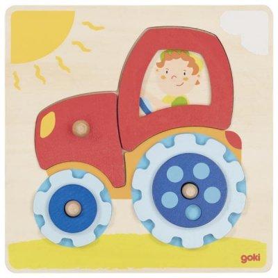 GOKI Vstavljanka Traktor