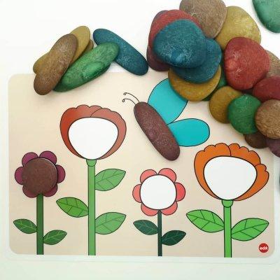 EDX Kamenčki Zemeljske barve Junior Eco