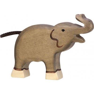 HOLZTIGER Lesene živali Slon, mali