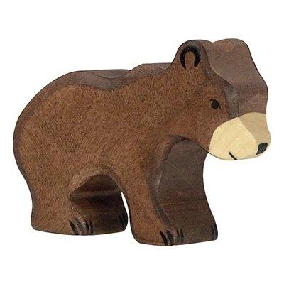HOLZTIGER Lesene živali Rjavi medved, mali