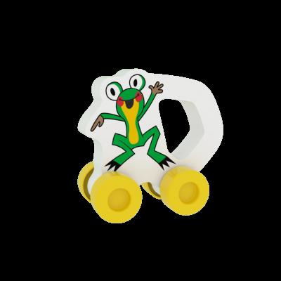 MILLAMINIS Avtomobilček Žabica