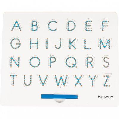 BELEDUC Magnetna tabla Učenje pisanja črk