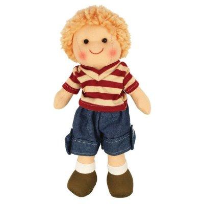 BIGJIGS Punčka iz blaga - Deček Harry (28 cm)