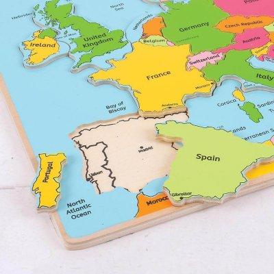 BIGJIGS Sestavljanka zemljevid Evropa