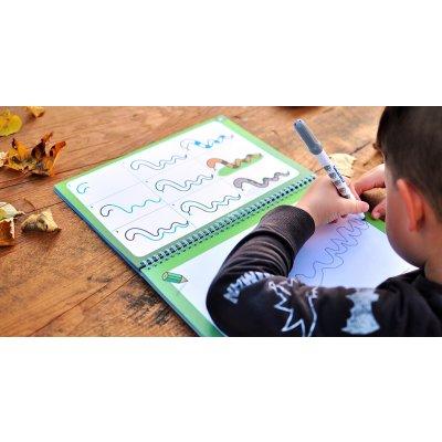 ČIV ČAV Knjiga za učenje risanja: Kako enostavno narisati 63 živali