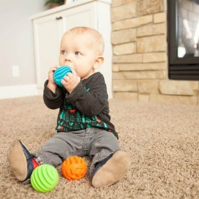 FAT BRAIN TOYS Igrače za dojenčke Sensory Rollers
