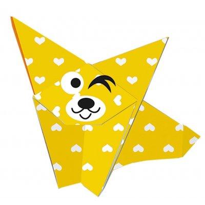 FRIDOLIN Origami za otroke Kuža