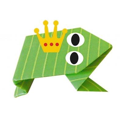 FRIDOLIN Origami za otroke Žaba