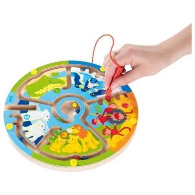GOKI Magnetni labirint za otroke - Nauči se štetja