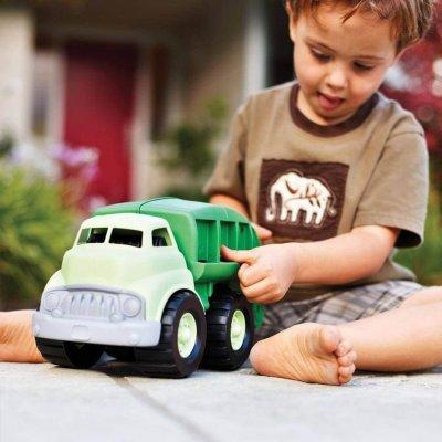 GREEN TOYS Smetarski tovornjak