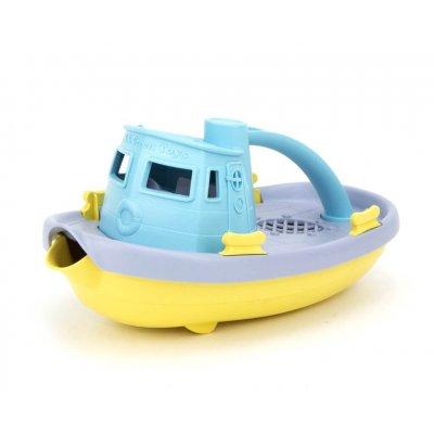 GREEN TOYS Vodne igrače - Tugboat, modra