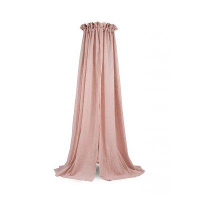 JOLLEIN Baldahin za posteljico 155 cm, komarnik, pale pink