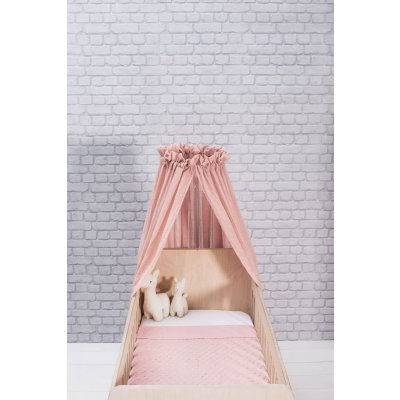 JOLLEIN Baldahin za posteljico 155 cm, komarnik, blush pink