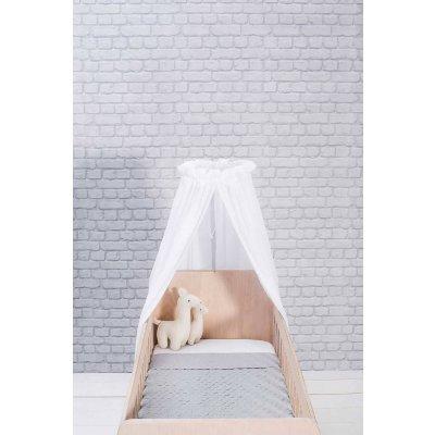JOLLEIN Baldahin za posteljico 155 cm, komarnik, white
