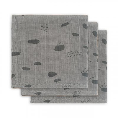 JOLLEIN Krpice za umivanje Spot storm grey 3/1