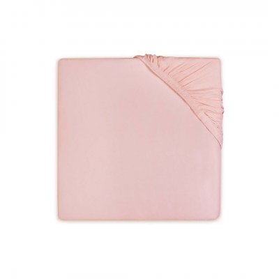JOLLEIN Napenjalna rjuha 60x120 cm, jersey, soft pink