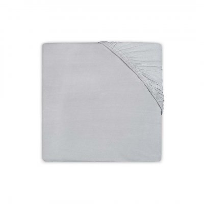 JOLLEIN Napenjalna rjuha 60x120 cm, jersey, soft grey
