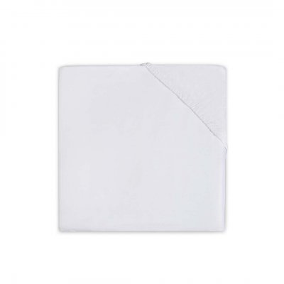 JOLLEIN Napenjalna rjuha 60x120 cm, jersey, white