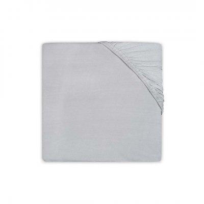 JOLLEIN Napenjalna rjuha 70x140 cm, jersey, soft grey