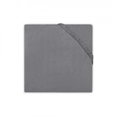 JOLLEIN Napenjalna rjuha 70x140 cm, jersey, dark grey