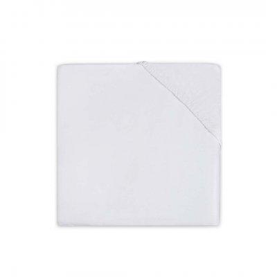 JOLLEIN Napenjalna rjuha, 70x140 cm, jersey, white