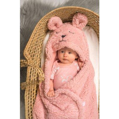 JOLLEIN Odeja za lupinico Bunny Pink