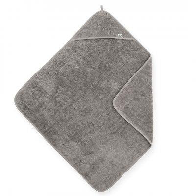 JOLLEIN Otroška brisača s kapuco 75x75 cm, terry, storm grey