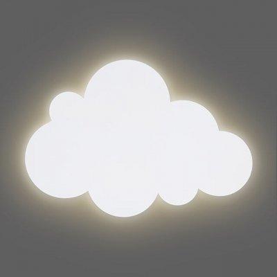 JOLLEIN Otroška nočna lučka Oblaček, white