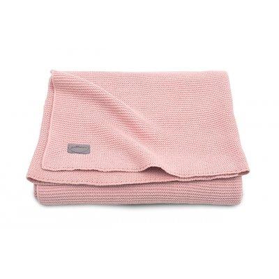 JOLLEIN Odejica za dojenčka 75x100 cm, Basic knit, blush pink