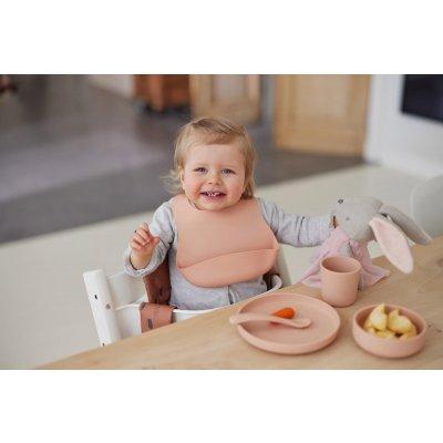 JOLLEIN Otroški jedilni set Pale pink