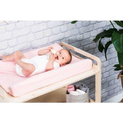 JOLLEIN Prevleka za previjalno podlogo 50x70 cm, Mini dots, blush pink