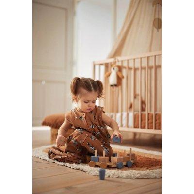 JOLLEIN Spalna vreča za dojenčka 90cm, Giraffe
