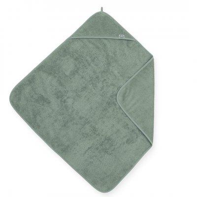 JOLLEIN Otroška brisača s kapuco 75x75 cm, terry, ash green