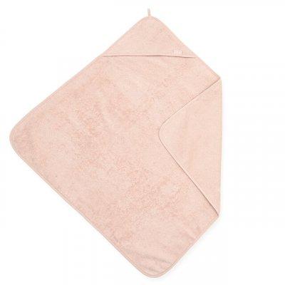JOLLEIN Otroška brisača s kapuco 75x75 cm, terry, pale pink