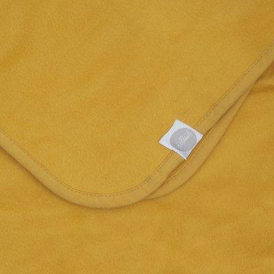JOLLEIN Odejica za dojenčka 75x100 cm, bombaž, mustard
