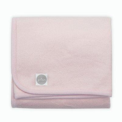 JOLLEIN Otroška odejica 75x100 cm, bombaž, soft pink