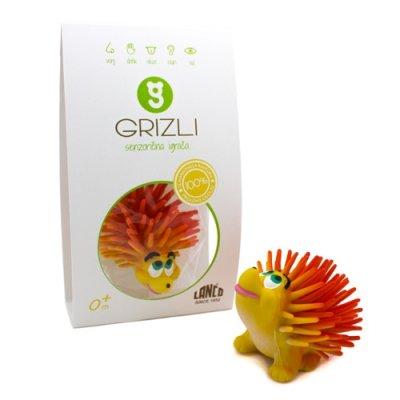 GRIZLI Senzorična igrača ježek Franček - naravni kavčuk