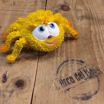 GRIZLI Senzorična igrača pajek Cene - naravni kavčuk