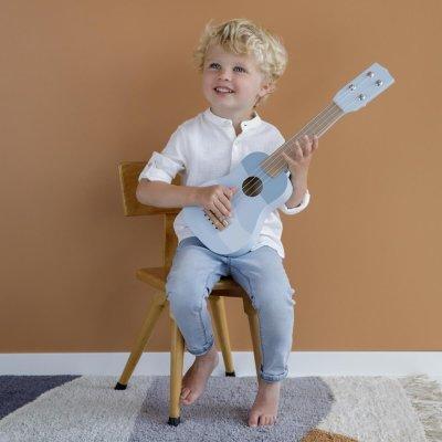 LITTLE DUTCH Otroška kitara Blue