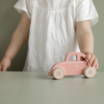 LITTLE DUTCH Avtomobilček Pink