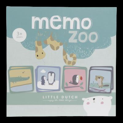 LITTLE DUTCH Igra spomin Zoo
