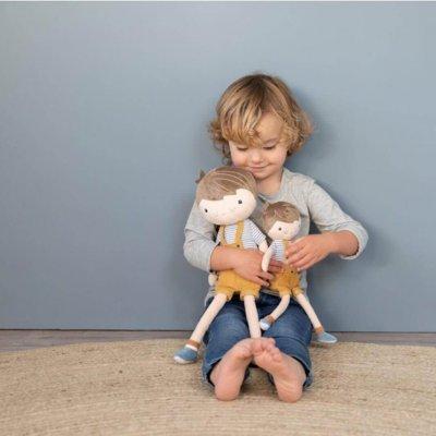 LITTLE DUTCH Punčka iz blaga - Deček Jim (35 cm)