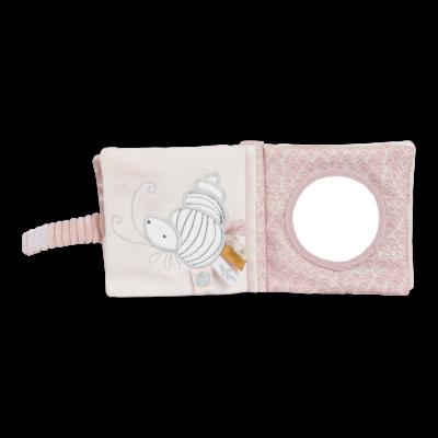 LITTLE DUTCH Knjiga za dojenčka Ocean Pink